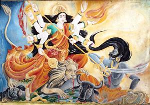 The Divine Mother Durga