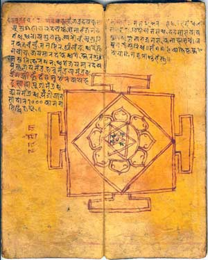 Ancient Yogic Painting
