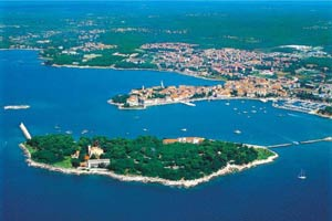 Istra islands in Croatia
