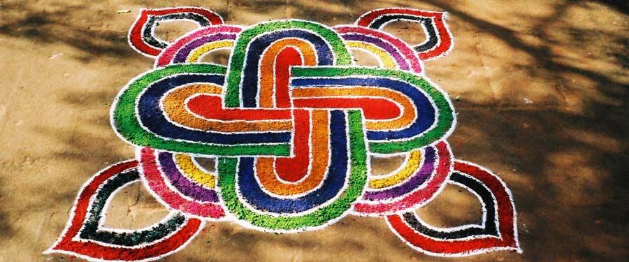 Mandala in South India - photo by Virochana