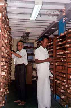 Dr TN Ganapathy and Dr KR Arumugam